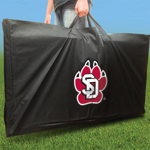 South Dakota Coyotes Slanted team logo carrying case