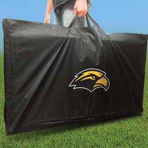 Southern Miss Golden Eagles Distressed team logo carrying case