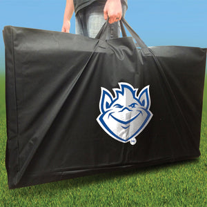 St Louis Billikens Stained Pyramid team logo carrying case