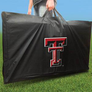 Texas Tech Red Raiders Distressed team logo carry case