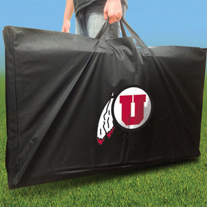 Utah Utes Stained Stripe team logo carrying case