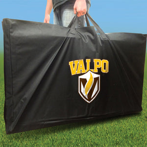 Valpo Crusaders Distressed team logo carry case