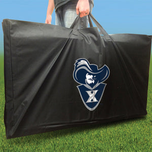 Xavier Muskateers Distressed team logo carry case