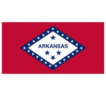 Load image into Gallery viewer, Arkansas State Flag poolmat closeup