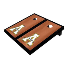 Load image into Gallery viewer, Appalachian State Black Rosewood Cornhole Boards