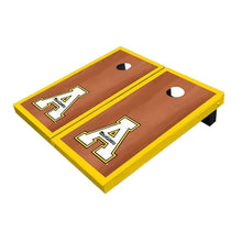 Load image into Gallery viewer, Appalachian State Yellow Rosewood Cornhole Boards