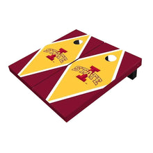 Load image into Gallery viewer, Iowa State Yellow And Red Diamond Cornhole Boards