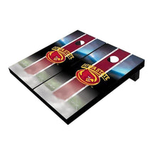 Load image into Gallery viewer, Iowa State Cyclone Field Red Cornhole Boards