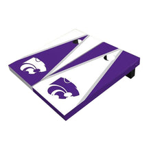 Load image into Gallery viewer, Kansas State Wildcats Triangle Cornhole Boards