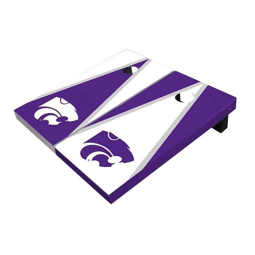 Kansas State Wildcats Triangle Cornhole Boards