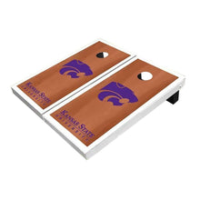 Load image into Gallery viewer, Kansas State Wildcats White Rosewood Cornhole Boards
