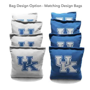Kentucky Wildcat Diamond team logo cornhole