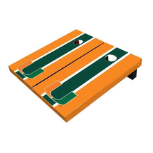 Load image into Gallery viewer, Miami Green And Orangee Cornhole Boards
