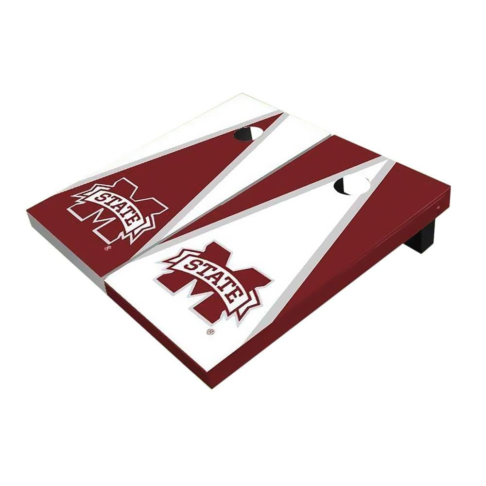Mississippi State Triangle Cornhole Boards