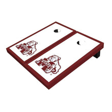Load image into Gallery viewer, Mississippi State Bulldog Maroon Cornhole Boards