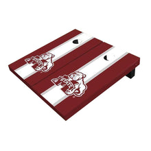 Load image into Gallery viewer, Mississippi State Bulldog White And Maroone Cornhole Boards