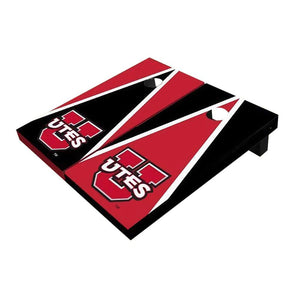 Utah Utes Triangle Cornhole Boards