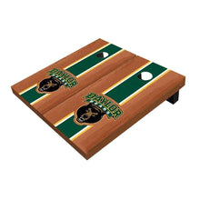 Load image into Gallery viewer, Baylor Bear Green Rosewood Cornhole Boards