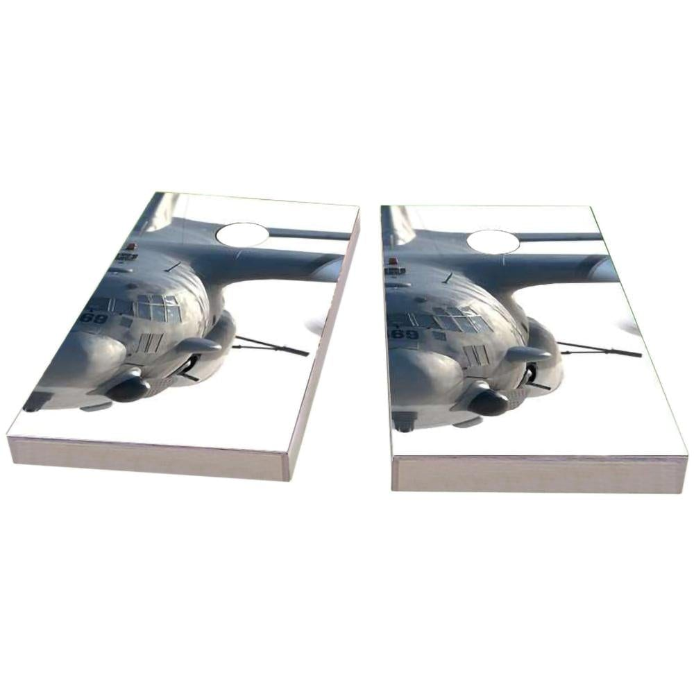 Face of AC130 Cornhole Boards