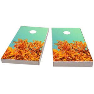 Fall Leaves Cornhole Boards