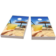 Load image into Gallery viewer, Margaritas on the Beach Cornhole Boards