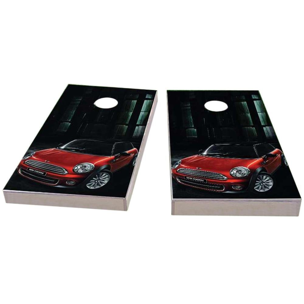 Mini Cooper Cornhole Boards