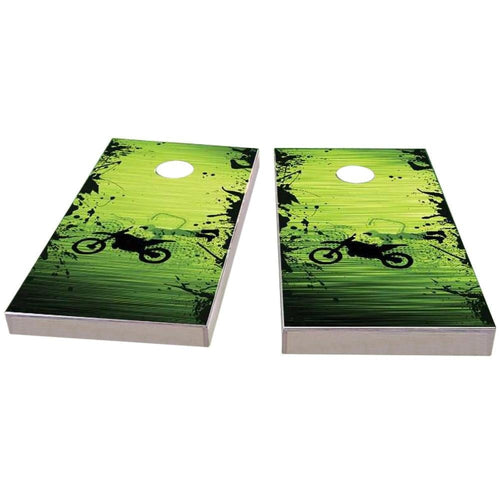 Motocross / Dirt Bike Themed Cornhole Boards