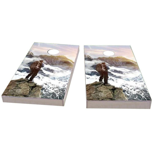 Mountain Climber Cornhole Boards