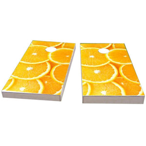 Oranges Cornhole Boards
