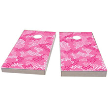 Load image into Gallery viewer, Pink Stars Camo Cornhole Boards