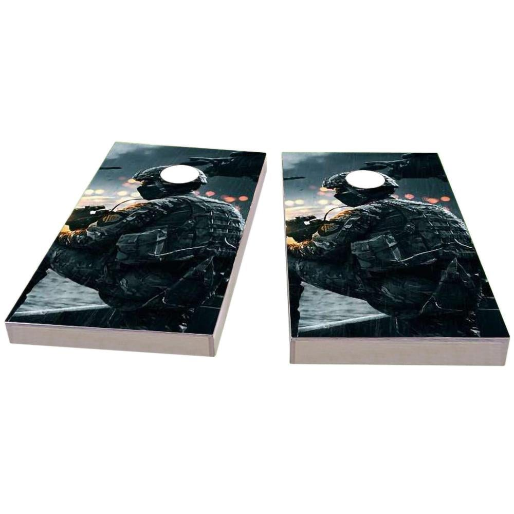 Soldier Cornhole Boards