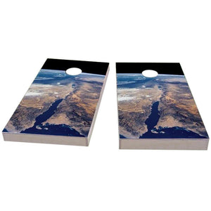 Earth from Space Cornhole Boards