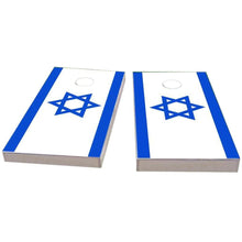 Load image into Gallery viewer, Israel Flag Cornhole Boards