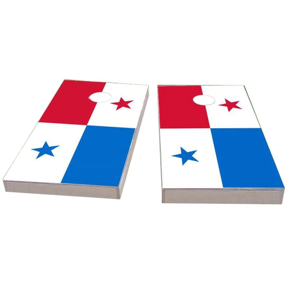 Panama Flag Cornhole Boards