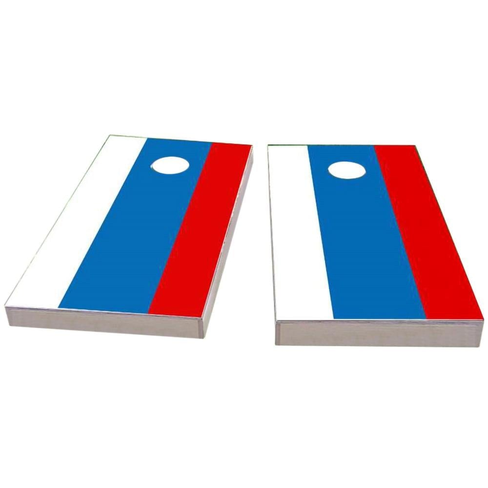 Russia Flag Cornhole Boards