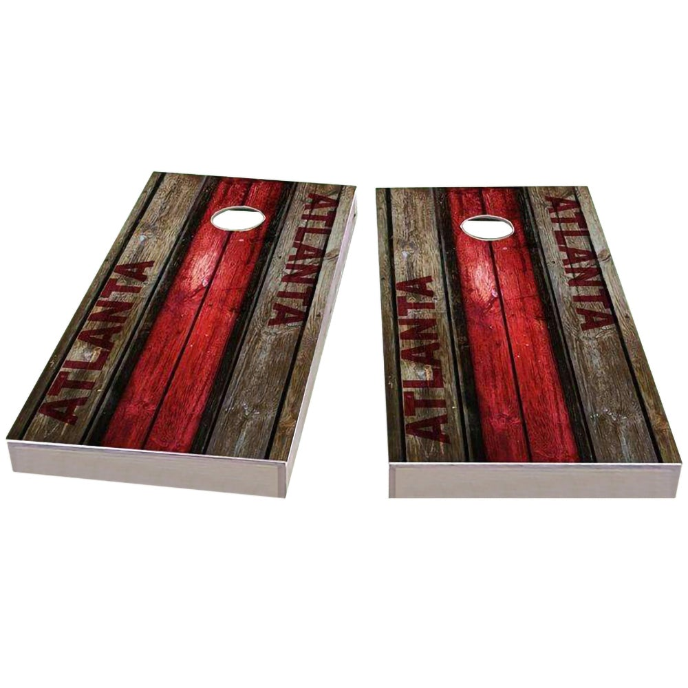 Atlanta Football Cornhole Boards