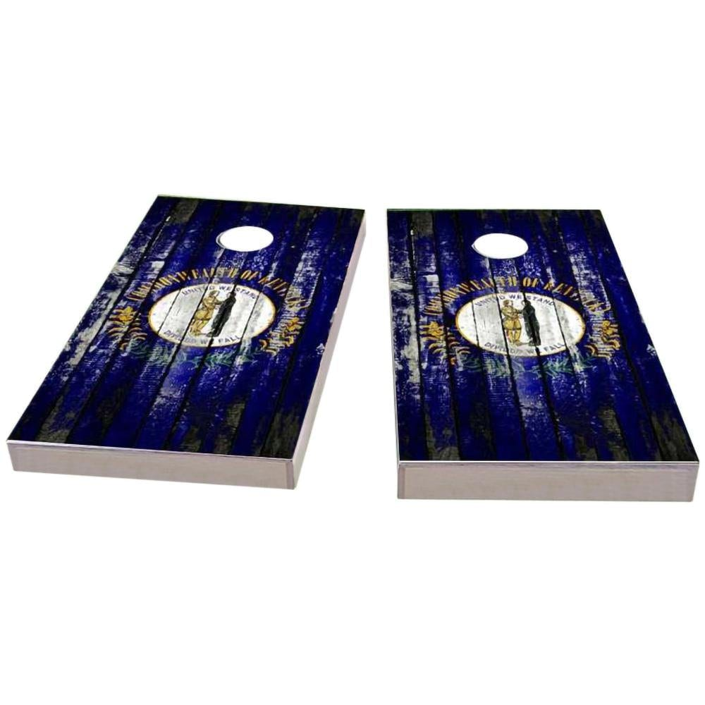 Kentucky Distressed Cornhole Boards