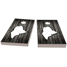 Load image into Gallery viewer, Maine Wood Slat Cornhole Boards