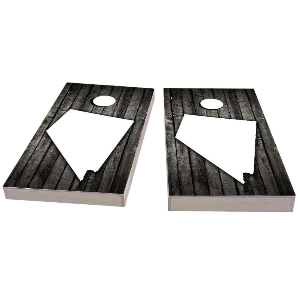 Nevada Wood Slat Cornhole Boards
