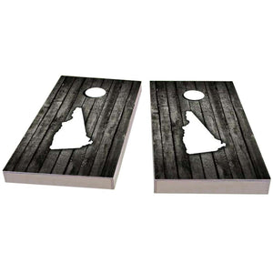 New Hampshire Wood Slat Cornhole Boards