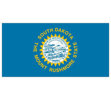 Load image into Gallery viewer, South Dakota State Flag poolmat closeup