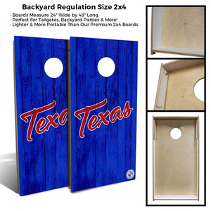 Texas Vintage backyard 2x4 specs
