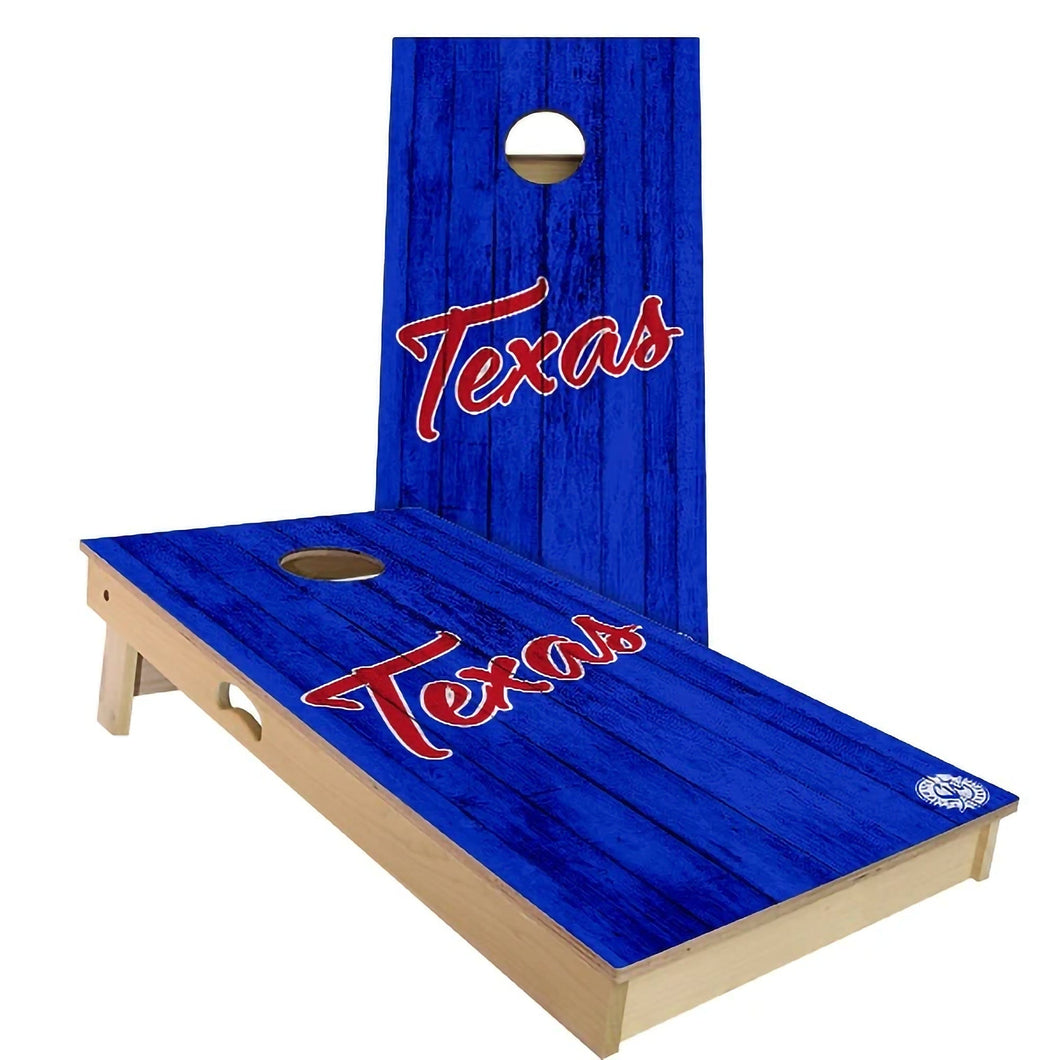 Texas Vintage Cornhole Boards