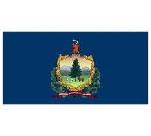 Load image into Gallery viewer, Vermont State Flag poolmat closeup