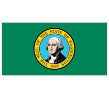 Load image into Gallery viewer, Washington State Flag poolmat closeup
