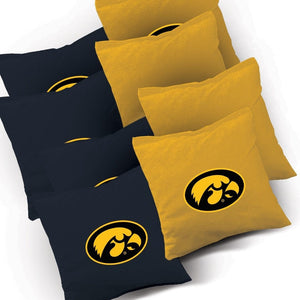 Iowa Hawkeyes Swoosh team logo bags