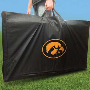 Iowa Hawkeyes Swoosh team logo carry case