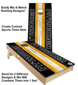 custom mix and match cornhole boards