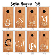 Load image into Gallery viewer, custom design your own cornhole boards