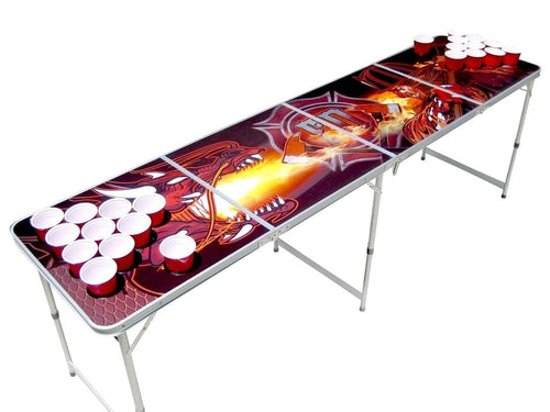 Firefighter beer pong table